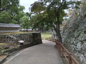 姫路城・扇の勾配