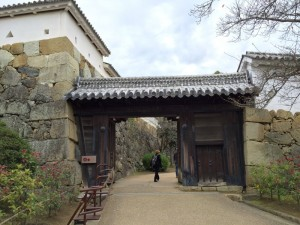 姫路城・るの門