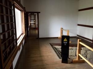 姫路城の百間廊下