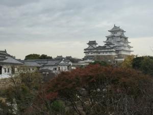 西ノ丸から望む姫路城