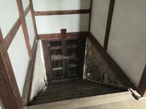 西ノ丸の階段