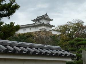 好古園から望む姫路城