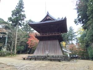 圓教寺の鐘楼
