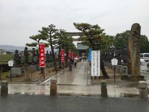 大石神社の入口
