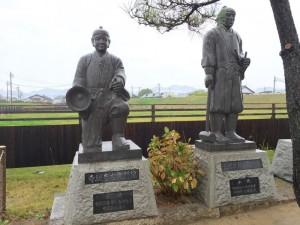 寺坂吉右衛門の像