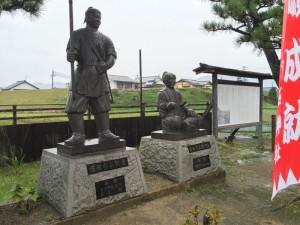堀部安兵衛の像