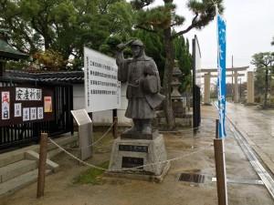 大石内蔵助の像