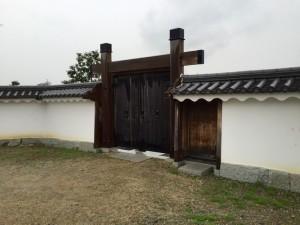 赤穂城の小さな門