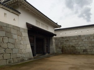 赤穂城の大手門