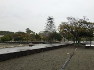 赤穂城の本丸
