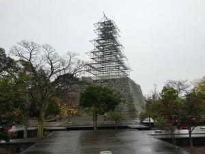 赤穂城の天守台