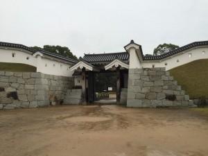 赤穂城の門