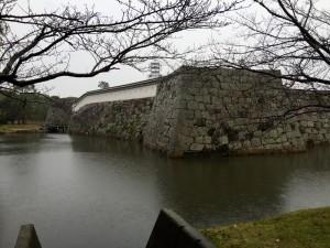 赤穂城の内濠