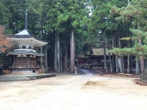六角経蔵 -(荒川経蔵)と山王院