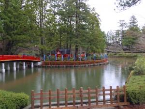 高野山の蓮池