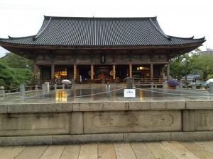 四天王寺の石舞台