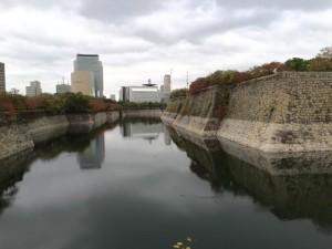 大阪城の内堀