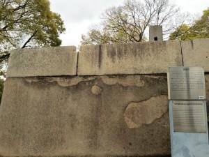 大阪城・玉造口の巨石