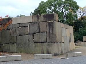 大阪城の二の丸