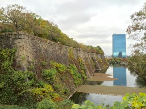 大阪城の東外堀