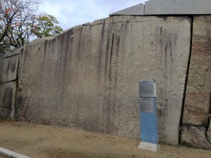 大阪城・桜門の巨石