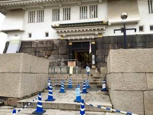 大阪城の入口