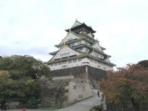 山里曲輪からの大阪城