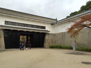 大阪城の大手門