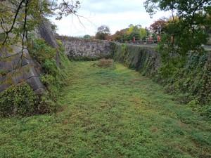 大阪城の空堀