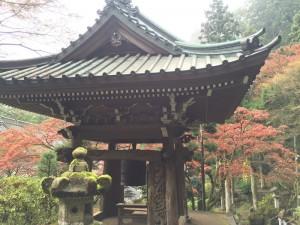 大雄山最乗寺の鐘楼