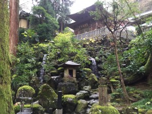 最乗寺・清心の滝