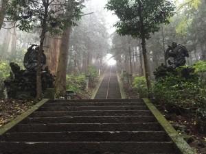 大雄山最乗寺の階段