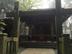 大雄山最乗寺の奥の院
