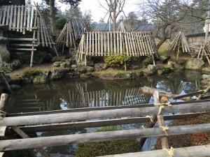 上杉神社の庭園