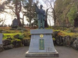 上杉鷹山の銅像