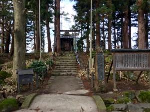 米沢城の春日神社