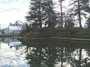 米沢城の堀