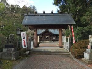 白石城の鎮守「神明社」
