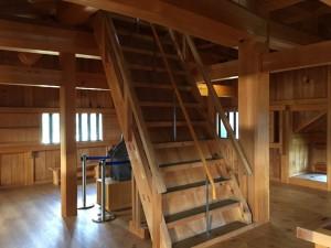 大洲城の階段