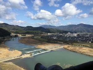 大洲城からの展望