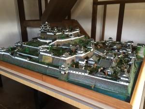 大洲城の様子