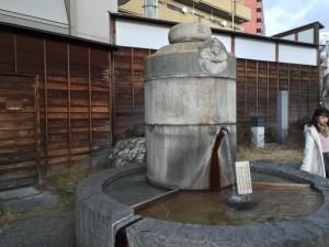 道後温泉の湯釜