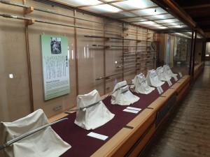 松山城の天守内部