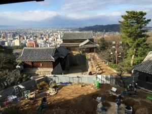 松山城からの展望