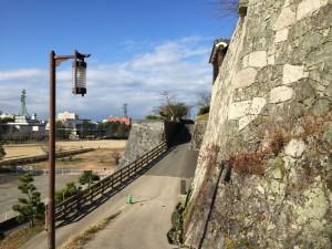 松山城・二之丸史跡庭園付近