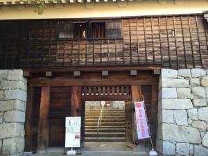 松山城・二の丸入口