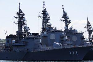 海上自衛隊の護衛艦