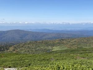 旭岳からの展望