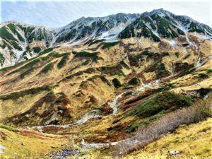 立山連峰の紅葉
