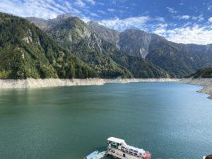 黒部湖遊覧船ガルバ